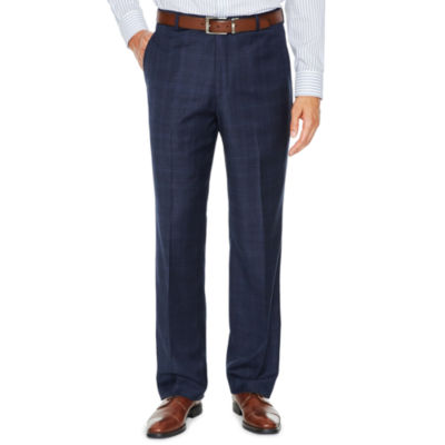 Stafford Plaid Slim Fit Suit Pants - Slim