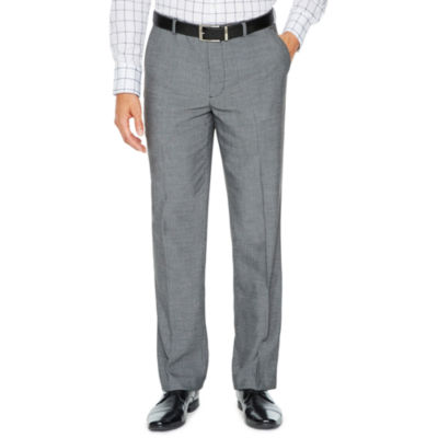 JF J.Ferrar Checked Stretch Slim Fit Suit Pants