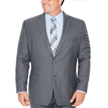 Collection by Michael Strahan Gray Weave Classic Fit Suit Jacket-Big and Tall