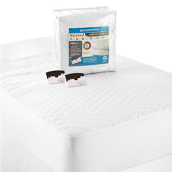 jcpenney heated mattress pad Biddeford Lumbar Support Heated Mattress Pad   JCPenney jcpenney heated mattress pad