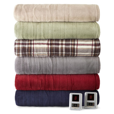 Biddeford™ MicroPlush Heated Blanket