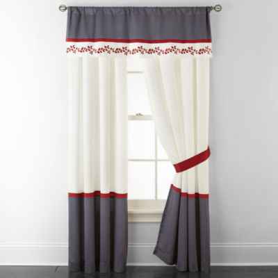 Home Expressions Cooper Rod Pocket Curtain Panels