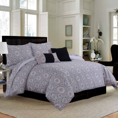 Tribeca Living Maldives 12-pc. Complete Bedding Set with Sheets