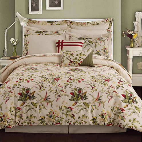Tribeca Living Maui Complete 12-pc. Complete Bedding Set with Sheets