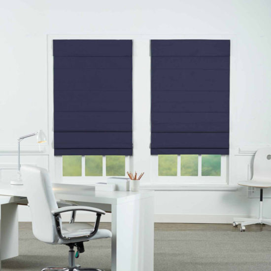Insulating Cordless Blackout Roman Shade