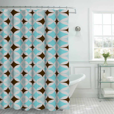 Avatar with Metal Rings Shower Curtain Set