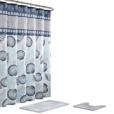 Island 15-Pc Shower Curtain Set
