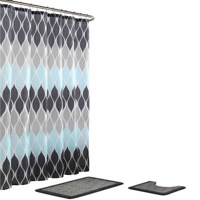 Clarisse 15-Pc Shower Curtain Set