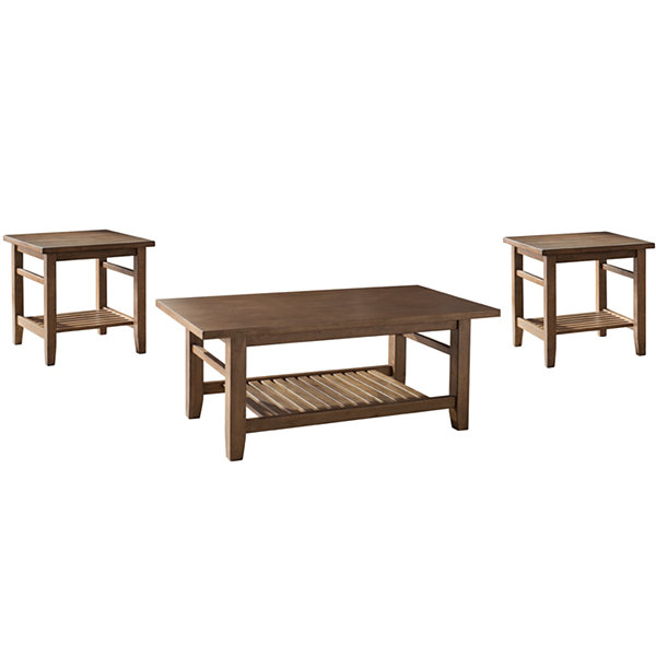 Signature Design by Ashley® Zantori Coffee Table Set - JCPenney