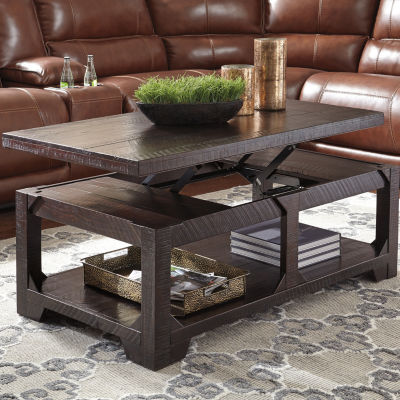 Signature Design By Ashley® Rogness Lift Top Coffee Table