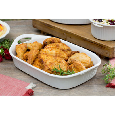 CorningWare® French White III 3-qt. Baking Dish