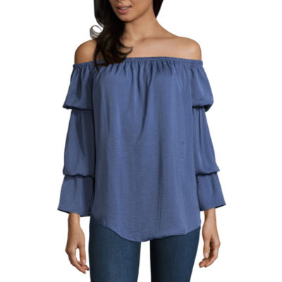 Belle + Sky Off Shoulder Top