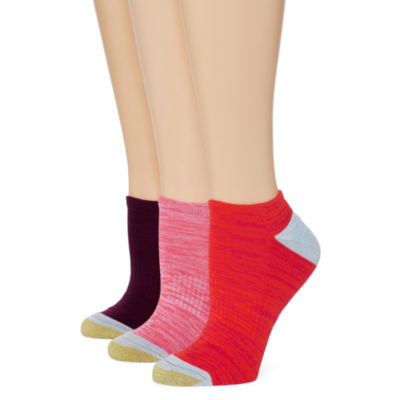 Gold Toe®3-pk. Free Feed No-Show Socks