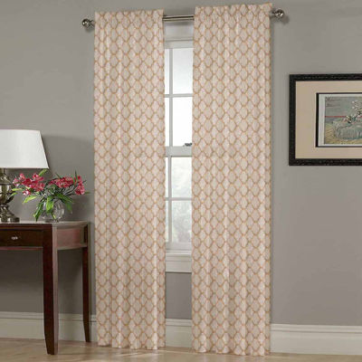Homewear Olivia Rod-Pocket Curtain Panel