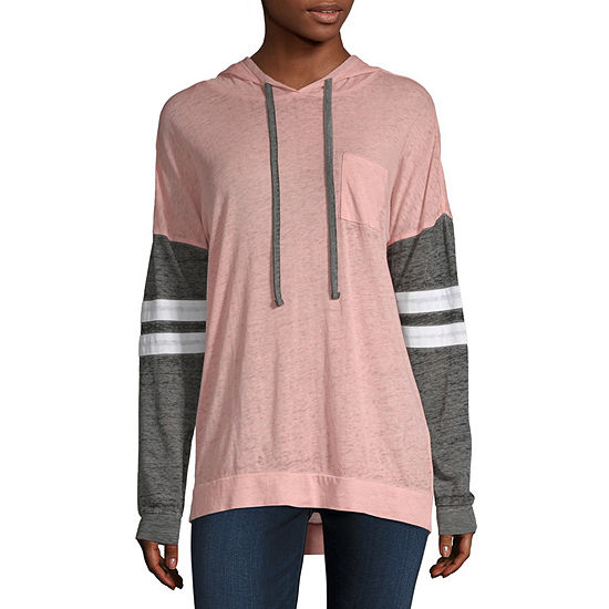 Derek Heart Womens Long Sleeve Hoodie Juniors