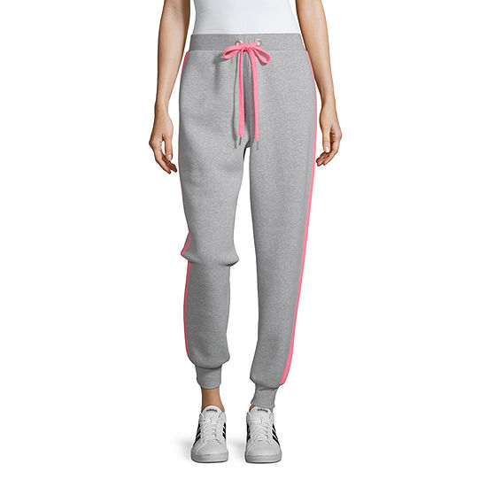 Cut And Paste Womens Mid Rise Jogger Pant-Juniors