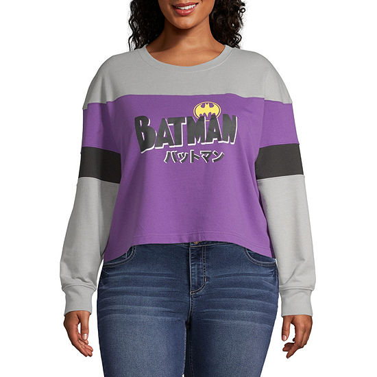 Long Sleeve Sweatshirt- Juniors Plus