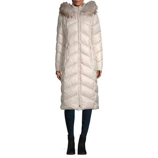 Miss Gallery Hooded Heavyweight Overcoat