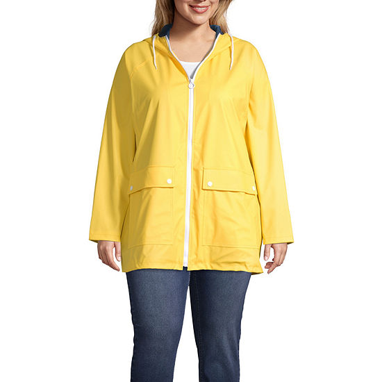 a.n.a Water Resistant Lightweight Raincoat-Plus