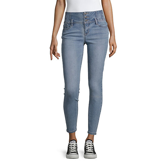 Blue Spice Womens High Waisted Skinny Regular Fit Jean - Juniors