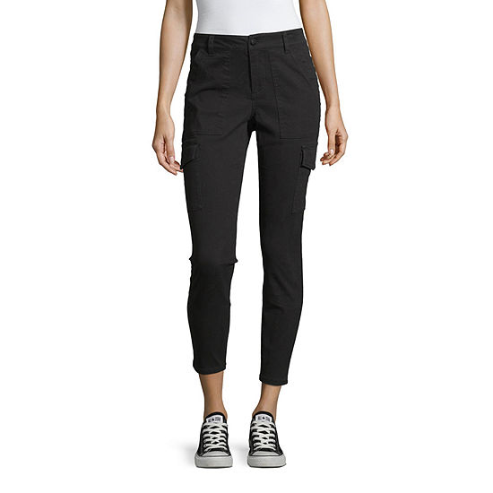 Blue Spice Womens Ankle Cargo Pant-Juniors
