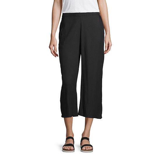 Arizona Womens Flare Pull-On Pants-Juniors