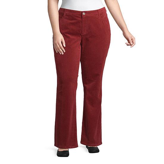 St. John's Bay Womens Bootcut Corduroy Pant