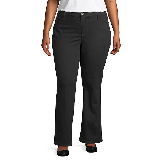 Liz Claiborne Flexi Fit Bootcut Pant- Plus