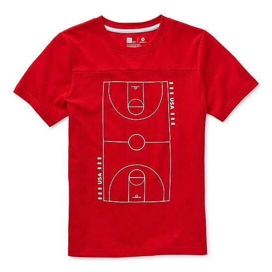 Xersion Little & Big Boys Crew Neck Short Sleeve T-Shirt