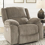 Signature Design by Ashley Dryden Collection Pad-Arm Recliner