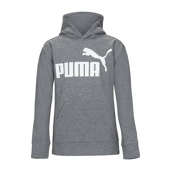 Puma Little Boys Cuffed Sleeve Hoodie