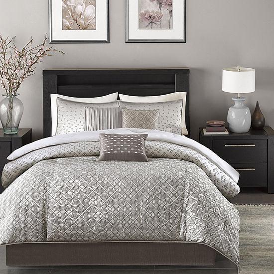 Madison Park Pensacola 7-pc. Jacquard Comforter Set