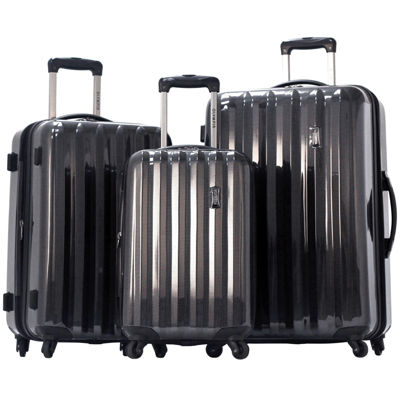 Titan 3-pc. Expandable Hardside Spinner Upright Luggage Set