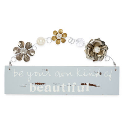 Messages from the Heart® by Sandra Magsamen® Beautiful Hanging Plaque