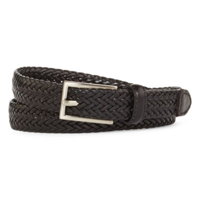 Mixit™  Flat Braided Leather Belt