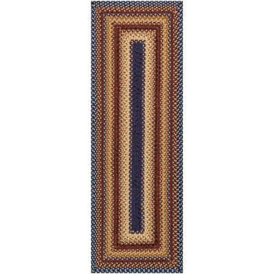 Canyon Reversible Braided Indoor/Outdoor Runner Rug