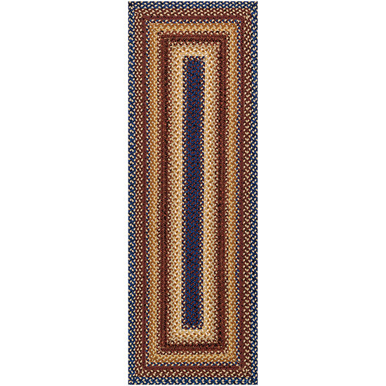 Canyon Reversible Braided Indoor/Outdoor Runner Rug JCPenney