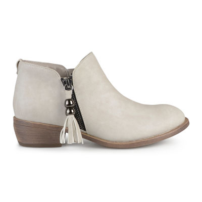 Journee Collection Kizzy Slip-On Womens Booties