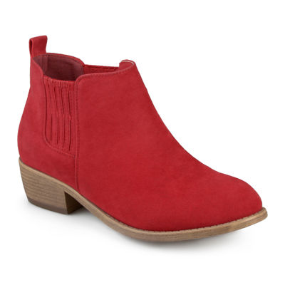Journee Collection Ramsey Slip-On Womens Booties