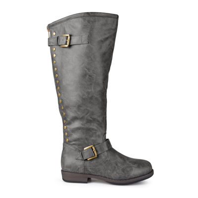 Journee Collection Spokane Extra Wide Calf Riding Boots