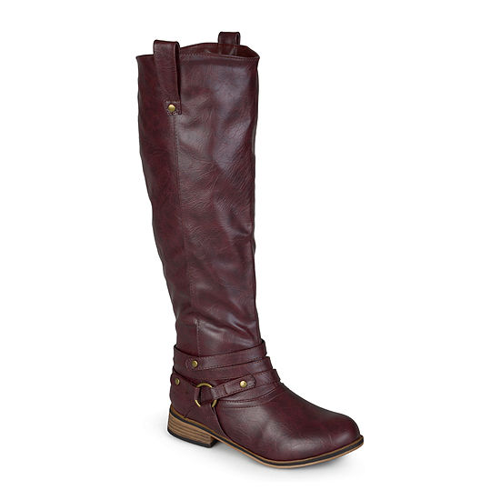 Journee Collection Womens Walla Extra Wide Calf Riding Boots