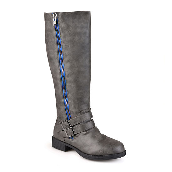 Journee Collection Womens Lady Extra Wide Calf Riding Boots