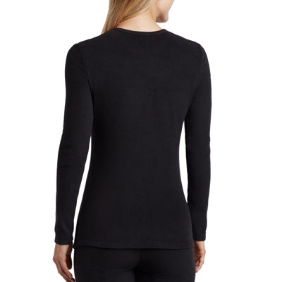 Cuddl Duds® Fleecewear Long-Sleeve Crewneck Shirt