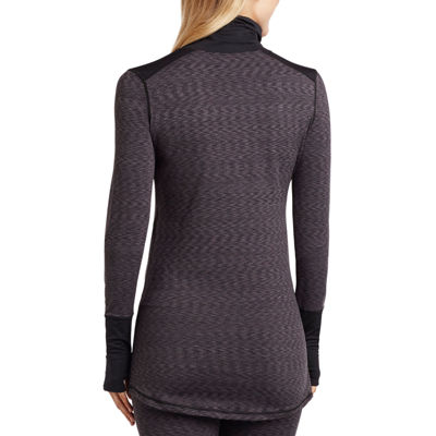 Cuddl Duds® Flex Fit Long-Sleeve Turtleneck Shirt