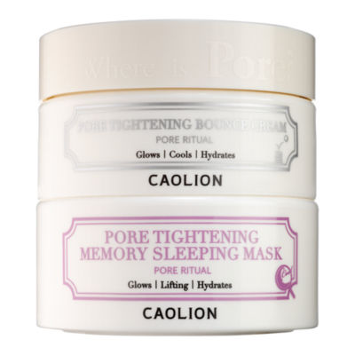 Caolion Pore Tightening Day & Night Glowing Duo