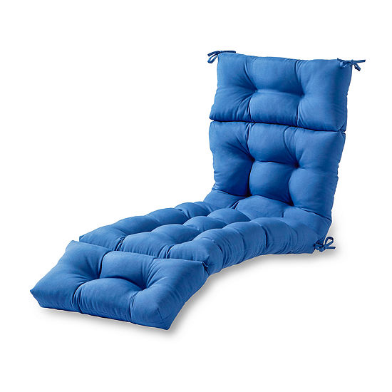 """Greendale Home Fashions 72"""" Solid Outdoor Chaise Lounger Cushion"""""""
