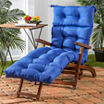 "72"" Outdoor Chaise Lounger Cushion"