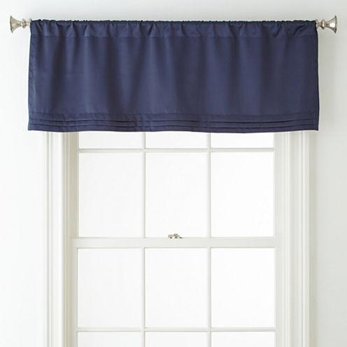 Liz Claiborne® Kathryn Rod-Pocket Tailored Valance