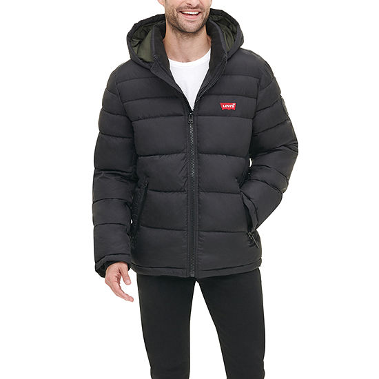 Levi's Hooded Water Resistant Heavyweight Puffer Jacket