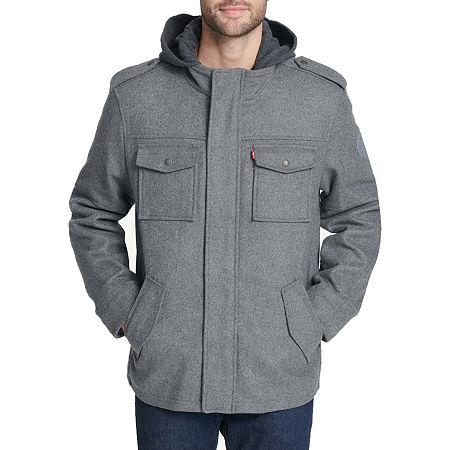 Levi's Midweight Field Jacket, Small , Gray